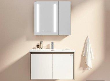 小米有品199元起的大白智能美妆镜柜:智能场景化美妆,精选品质